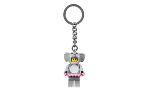 LEGO® Iconic Elephant Girl Key Chain