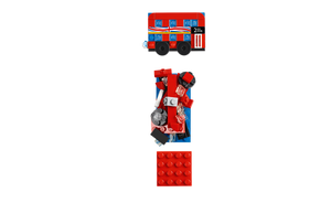 LEGO® London Bus Magnet Build