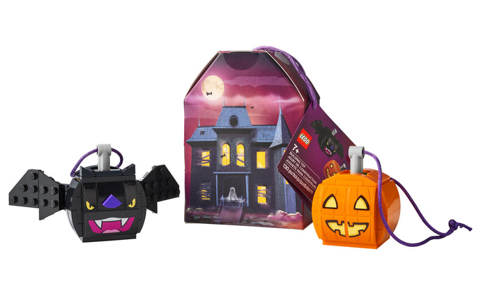 854049 | LEGO® Iconic Pumpkin & Bat Duo
