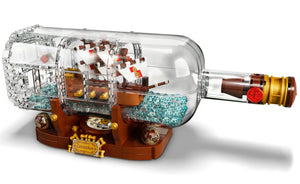 92177 | LEGO® Ideas Ship in a Bottle