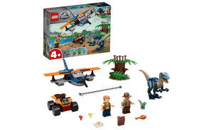 75942 | LEGO® Jurassic World Velociraptor: Biplane Rescue Mission