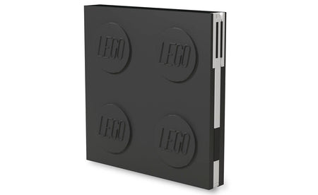 IQ52447 | LEGO® Locking Notebook with Gel Pen - Black