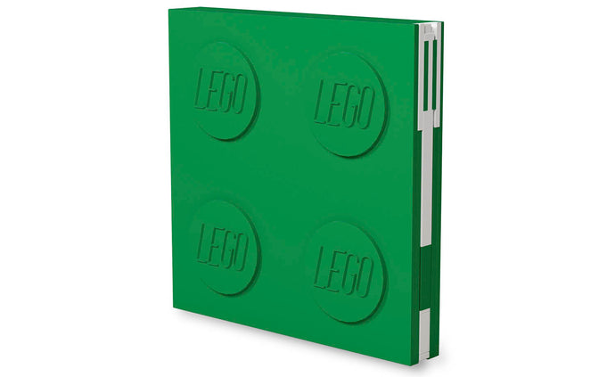 IQ52443 | LEGO® Locking Notebook with Gel Pen - Green