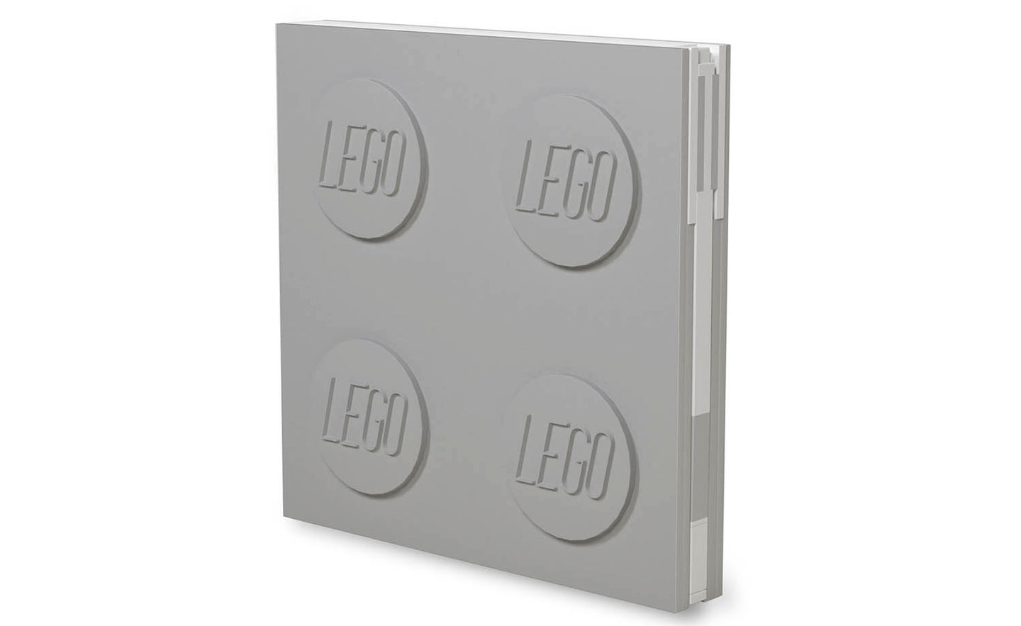 IQ52448 | LEGO® Locking Notebook with Gel Pen - Grey