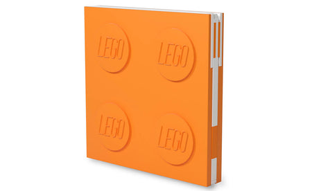 IQ52440 | LEGO® Locking Notebook with Gel Pen - Orange