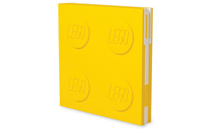 IQ52441 | LEGO® Locking Notebook with Gel Pen - Yellow