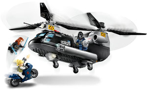 76162 | LEGO® Marvel Avengers Black Widow's Helicopter Chase