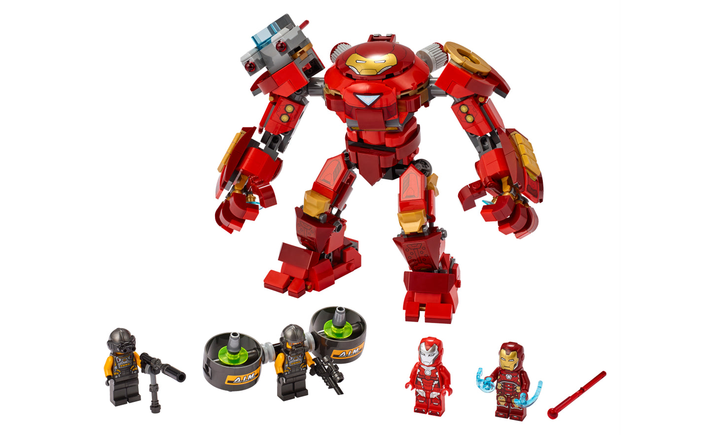 76164 | LEGO® Marvel Avengers Iron Man Hulkbuster Versus A.I.M. Agent