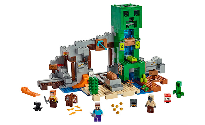LEGO® Minecraft™ The Creeper™ Mine