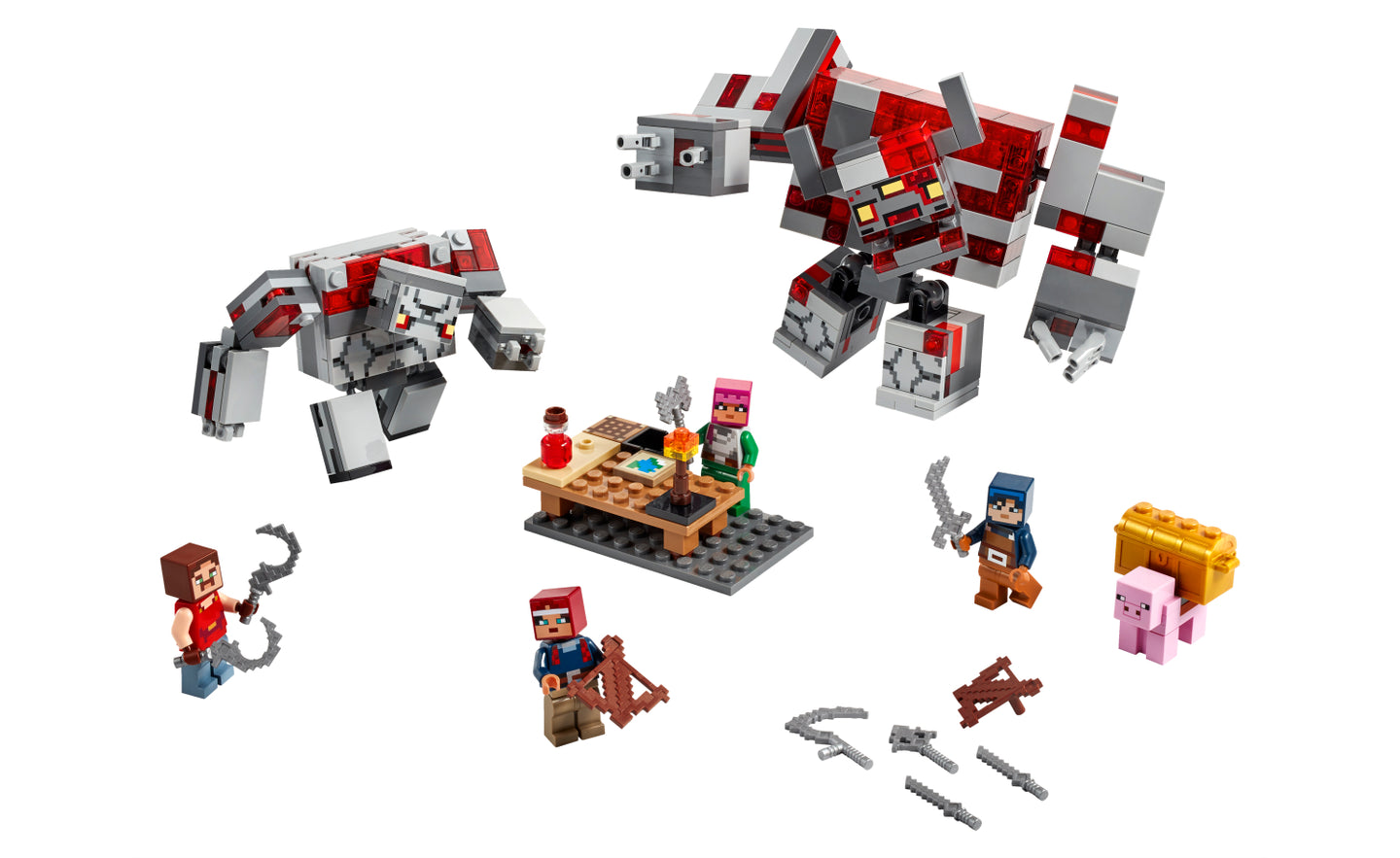 21163 | LEGO® Minecraft™ The Redstone Battle