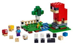 LEGO® Minecraft™ The Wool Farm