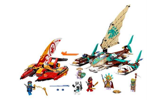 71748 | LEGO® NINJAGO® Catamaran Sea Battle