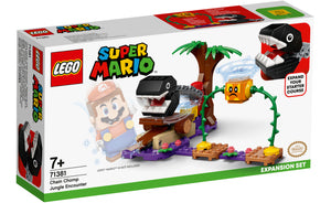 71381 | LEGO® Super Mario™ Chain Chomp Jungle Encounter Expansion Set