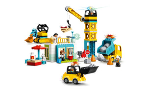 10933 | LEGO® DUPLO® Construction Tower Crane & Construction