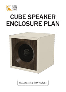Cube Speakers | DIY Build Plans