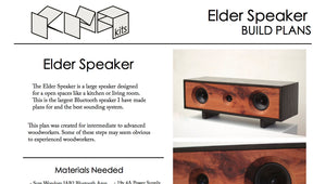 Elder Bluetooth Speaker | DIY Build Plans
