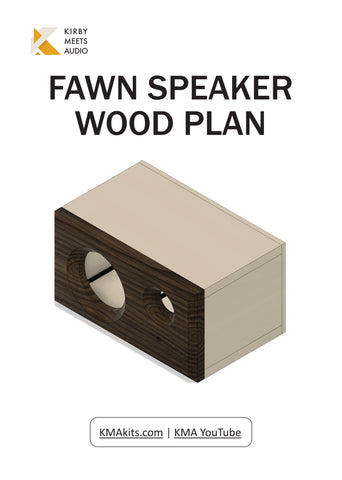 Fawn v2 Bluetooth Speaker | DIY Build Plans