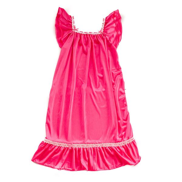 The Original | Classic Vintage Nightgown Nightgown Betsy and Lace S (1-2 Years) Pink