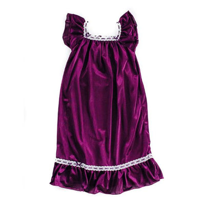 The Original | Classic Vintage Nightgown Nightgown Betsy and Lace S (1-2 Years) Purple
