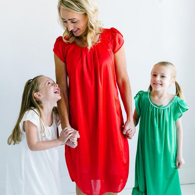 The Lucy | Vintage Matching Women's Nightgowns Nightgown Betsy and Lace