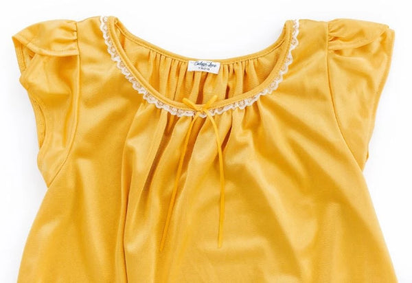 The Betsy | New Colors & Style Nightgown Betsy and Lace YS (1-2 Years) Gold