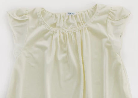 The Betsy | New Colors & Style Nightgown Betsy and Lace YS (1-2 Years) White
