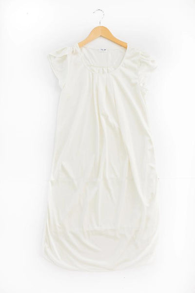 The Lucy | Vintage Matching Women's Nightgowns Nightgown Betsy and Lace XS (0-2) White