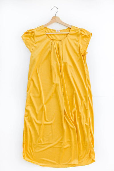 The Lucy | Vintage Matching Women's Nightgowns Nightgown Betsy and Lace XS (0-2) Gold