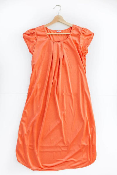The Lucy | Vintage Matching Women's Nightgowns Nightgown Betsy and Lace XS (0-2) Coral