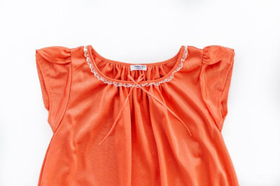 The Betsy | New Colors & Style Nightgown Betsy and Lace YS (1-2 Years) Coral