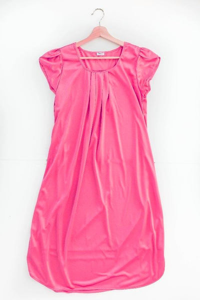 The Lucy | Vintage Matching Women's Nightgowns Nightgown Betsy and Lace XS (0-2) Pink