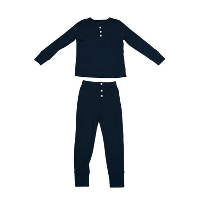 Johnnies Pajamas Betsy and Lace S (1-2) Navy