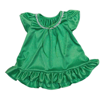 Doll Vintage Nightgown Nightgown Betsy and Lace Green