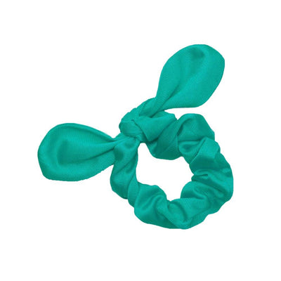 Tricot Scrunchies Scrunchie Betsy and Lace Turquoise