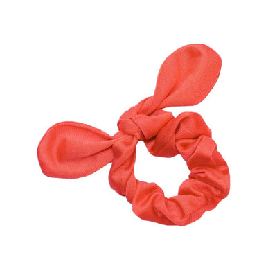 Tricot Scrunchies Scrunchie Betsy and Lace Coral