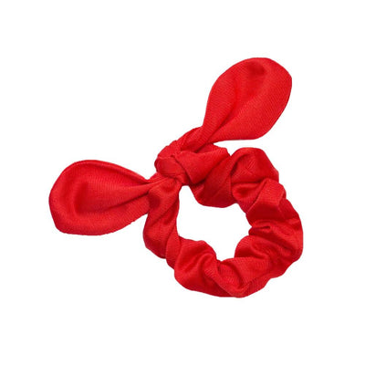 Tricot Scrunchies Scrunchie Betsy and Lace Red