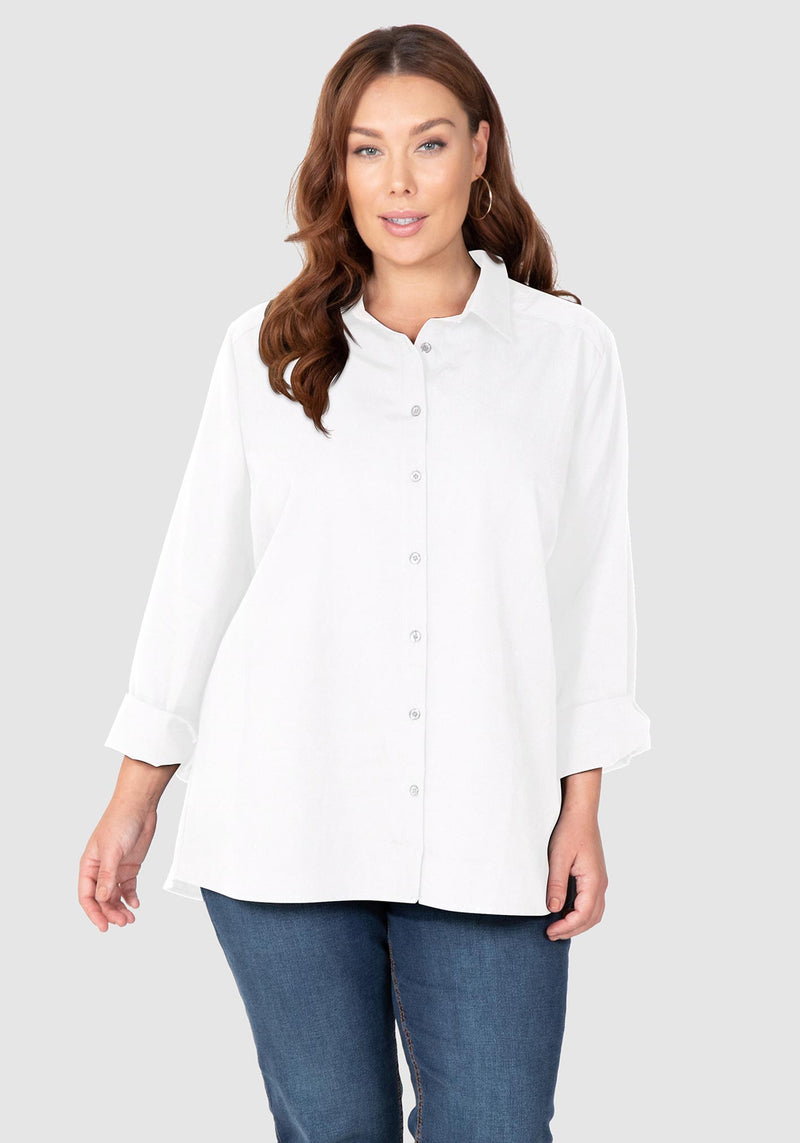 Cotton Overshirt - White