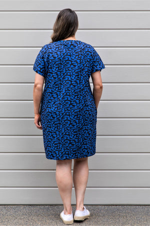 Print T-shirt Dress - Animal Print