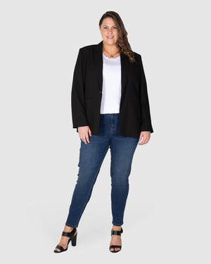 Relaxed Blazer - Black
