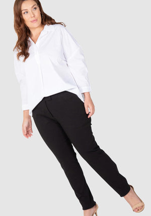 Stretch Bengaline Pants - Black