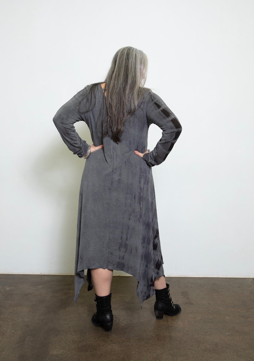 Wave Dress - Shibori - SALE