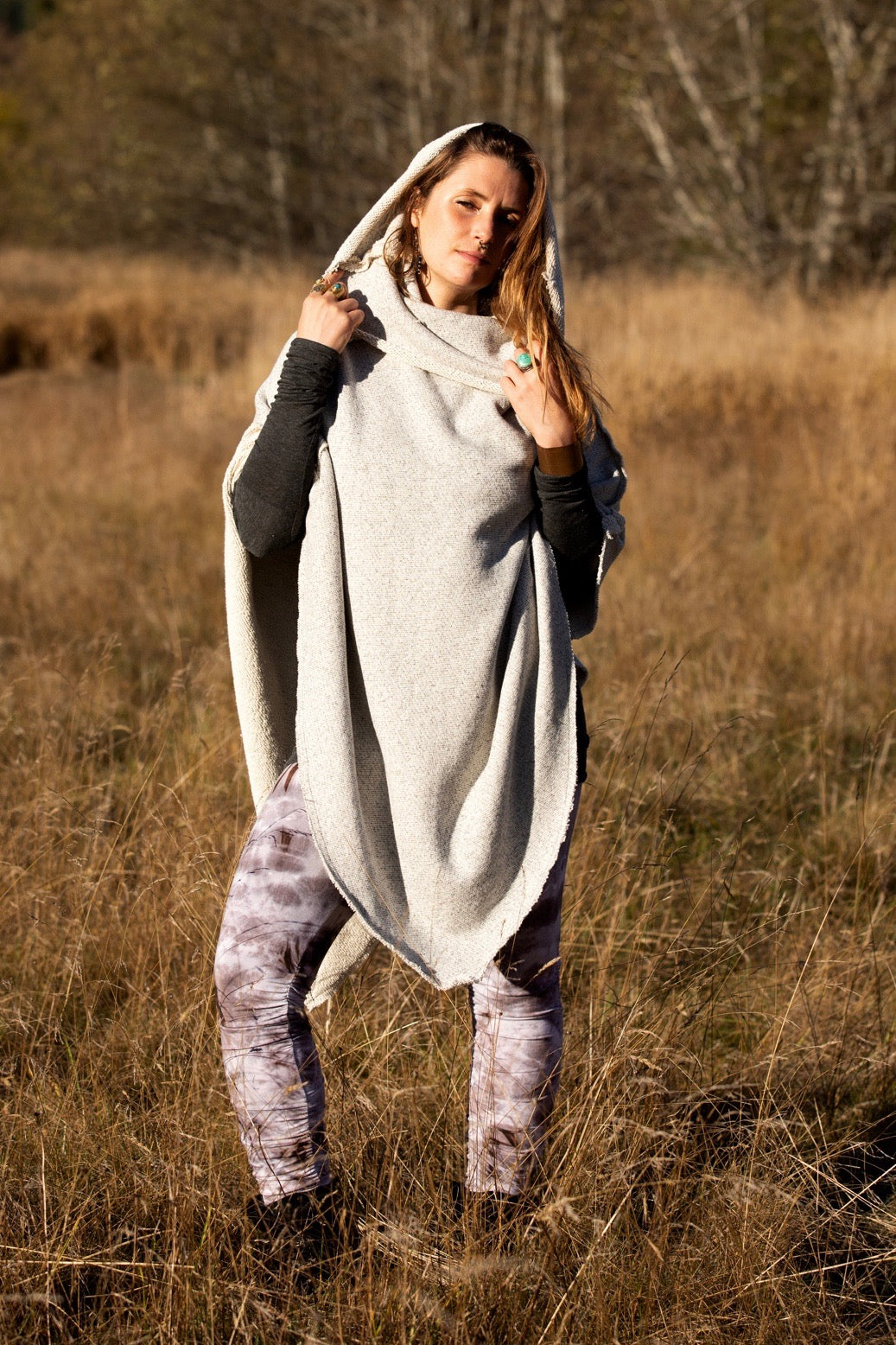 BeeHive Poncho - Cotton