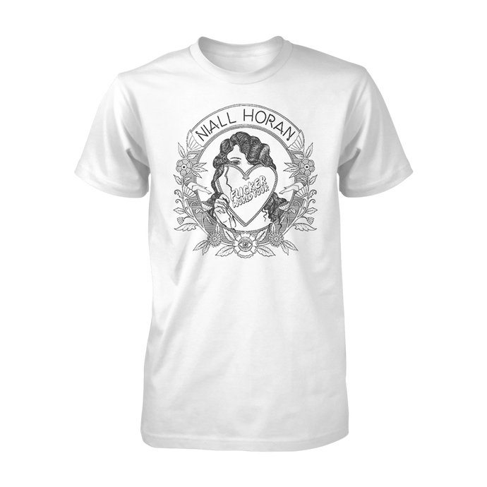 Black & White Flicker World Tour Tee