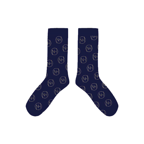 Navy Insignia Socks