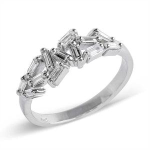 CHAOS BAGUETTE DIAMOND ETERNITY BAND