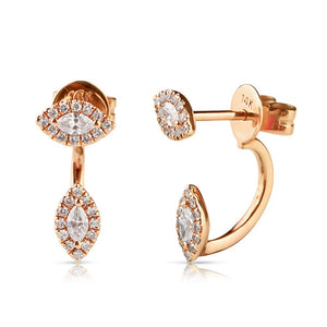 IN STOCK - PHOEBE DIAMOND EARRINGS
