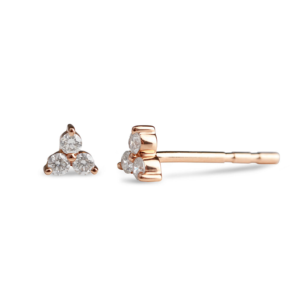 Trillium Diamond Earrings