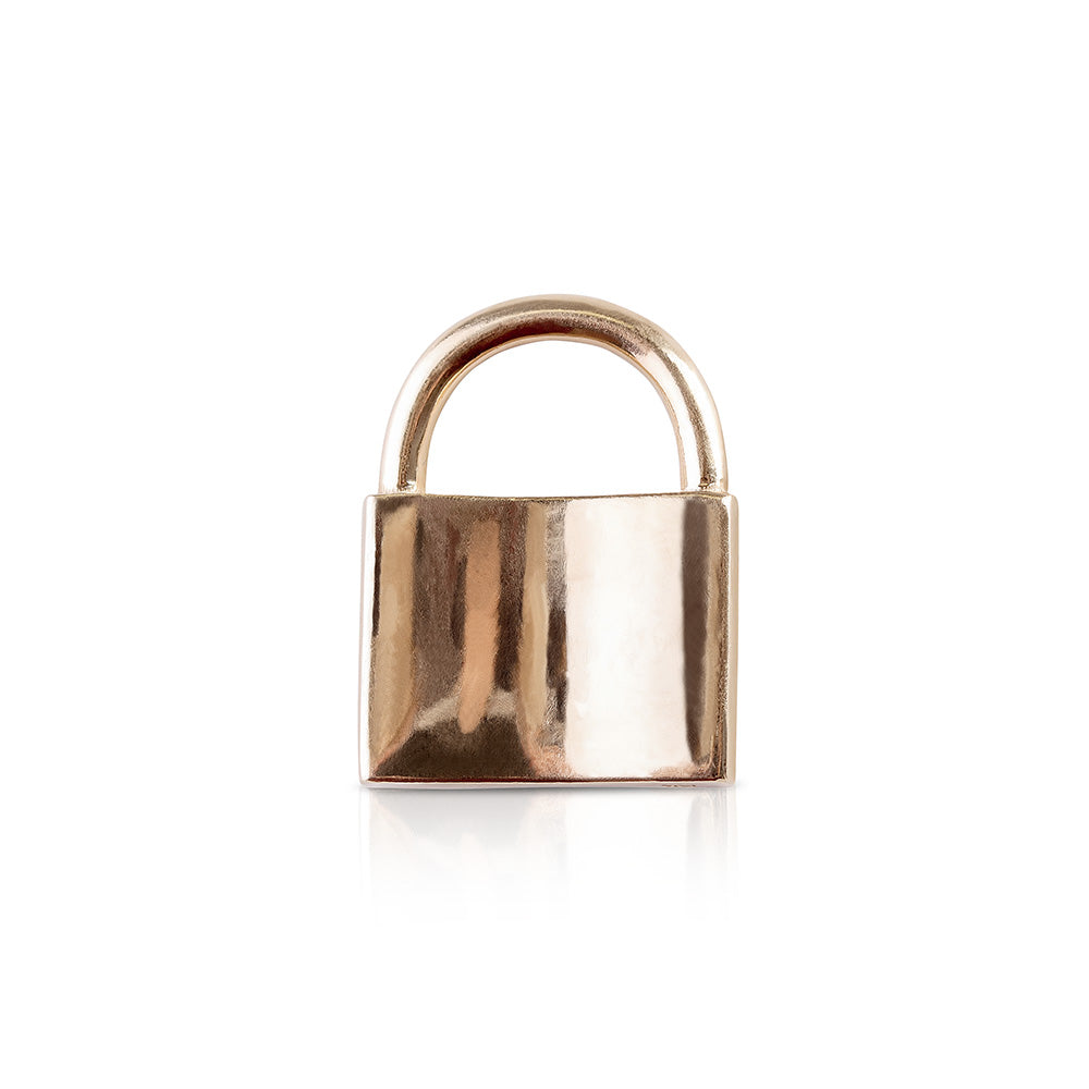 SOLID 14K GOLD LOVE LOCK