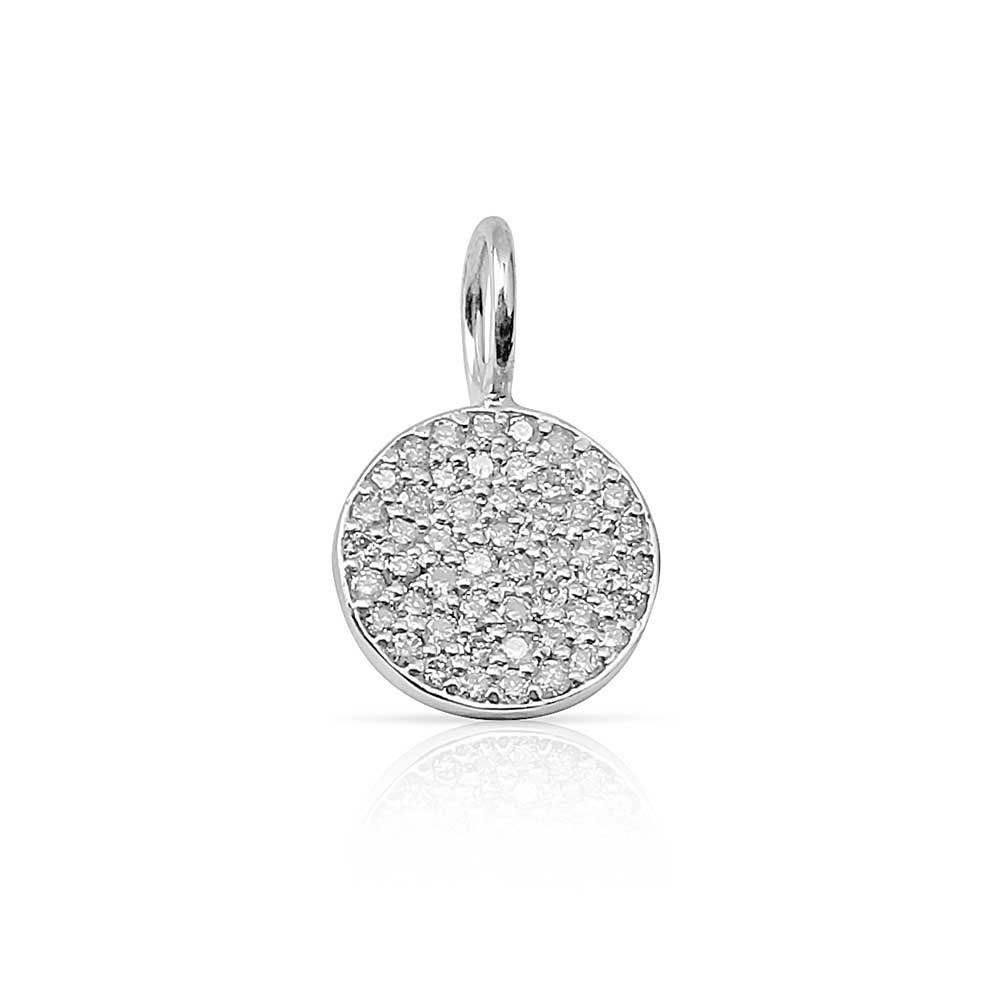 Diamond Disc Charm