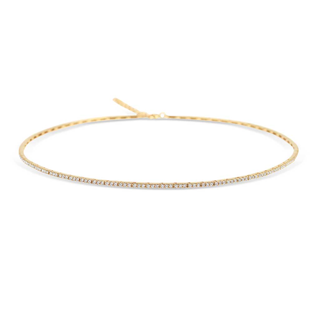 IN STOCK - DIAMOND RIBBON TENNIS CHOKER